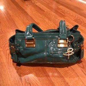 B. Makowsky   Teal handbag